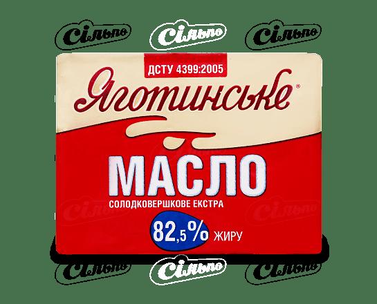 Масло солодковершкове «Яготинське» 82.5% 200г