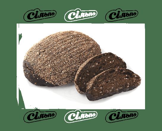 Хліб подовий житньо-пшеничний мультизерновий 100г