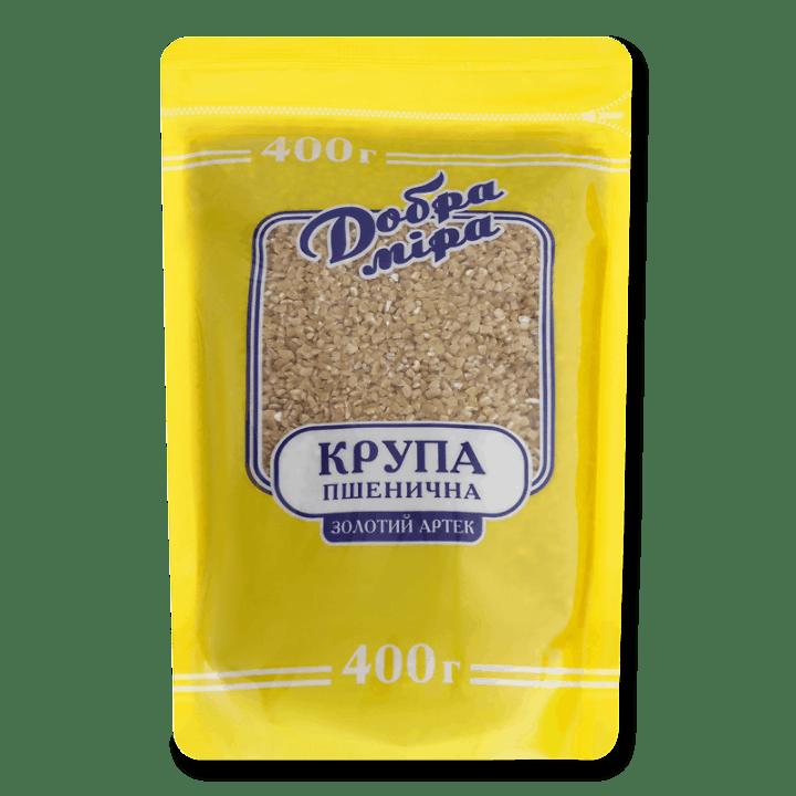 Крупа Добра міра Золотий Артек пшенична 400г