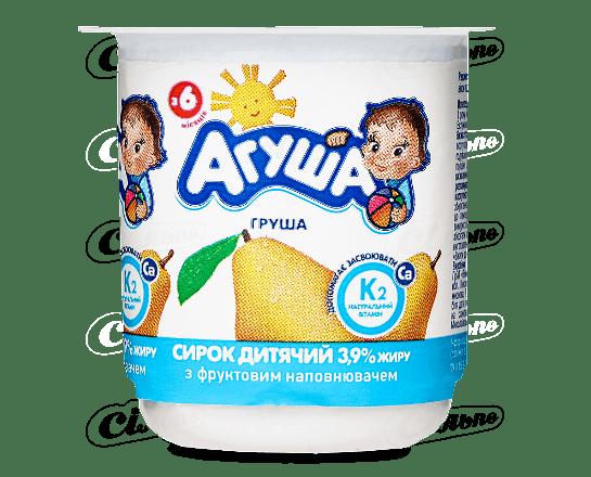 Сир «Агуша» дитячий груша 3.9% 100г