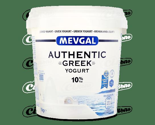 Йогурт Mevgal «Грецький» натуральний 10% 1кг