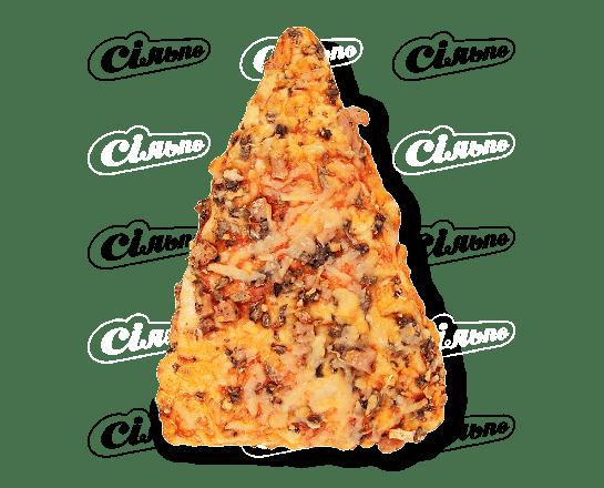 Піца з шинкою та грибами 145г