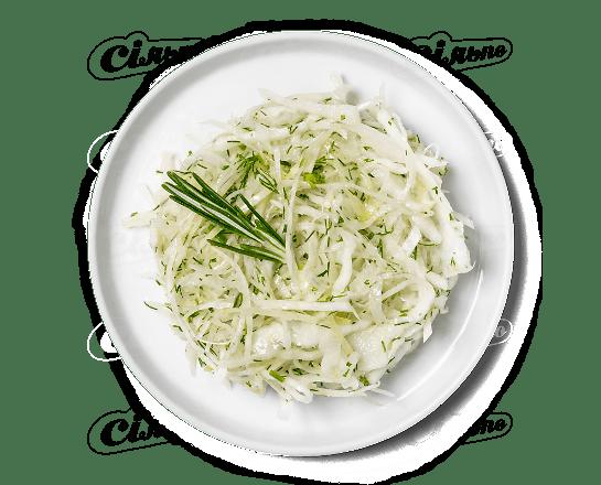 Салат з капусти з зеленню 100г