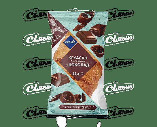 Круасан «Премія»® з начинкою зі смаком шоколаду 65г