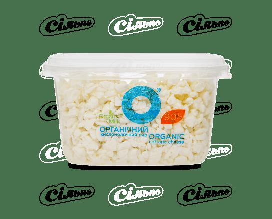 Сир кисломолочний OrganicMilk 9% органічний 300г