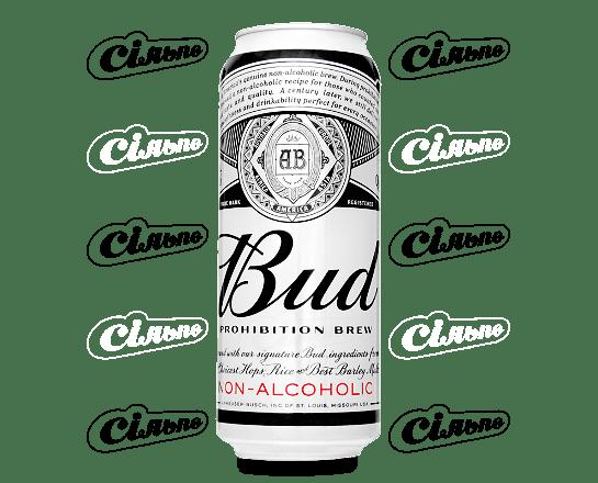 Пиво Bud Prohibition Brew світле безалкогольне 0.5л