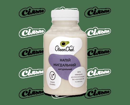 Молоко Green Chef мигдальне натуральне 250г