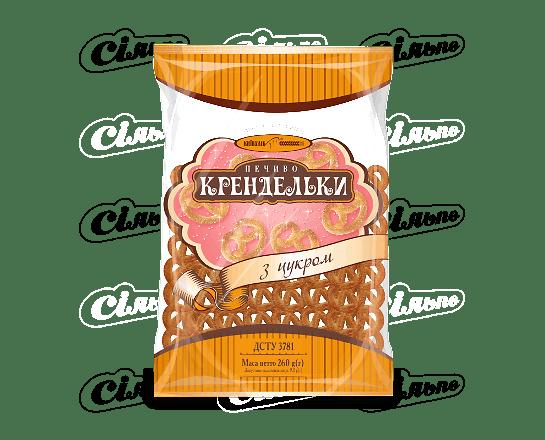 Печиво «Київхліб» крендельки з цукром 260г
