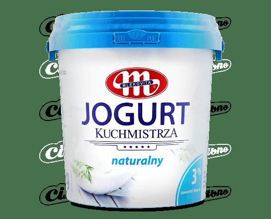 Йогурт Mlekovita без наповнювача 3% 1кг