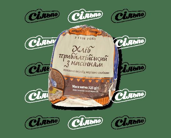 Хліб «Київхліб» «Прибалтійський» з насінням нарізаний 325г