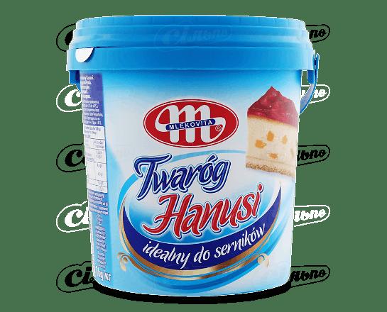 Сир кисломолочний Mlekovita для випікання сирників 6.5% 1кг