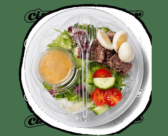 Салат із тунцем та перепелиними яйцями 170г