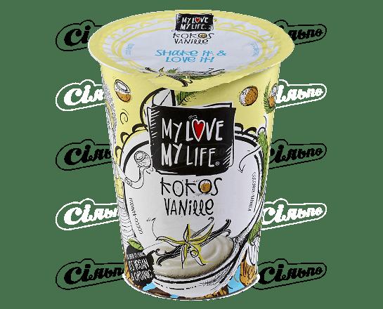 Десерт кокосовий My Love-My Life ваніль органічний 180г