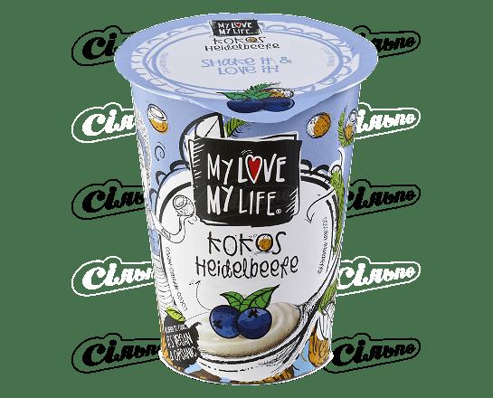 Десерт кокосовий My Love-My Life чорниця органічний 180г