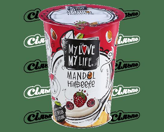 Десерт мигдальний My Love-My Life малина органічний 180г