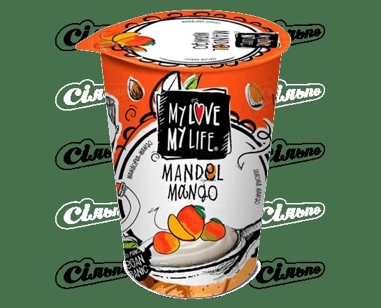 Десерт мигдальний My Love-My Life манго органічний 180г