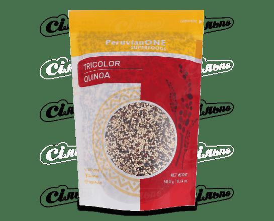 Кіноа PeruvianONE Superfoods суміш білої. червоної та чорної