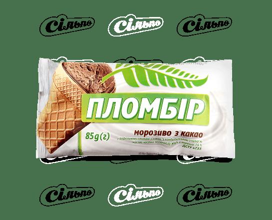 Морозиво Oliver Smith пломбір какао 85г