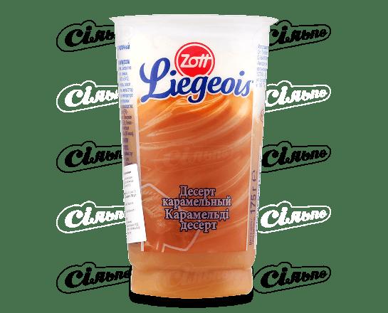 Десерт Zott Liegeois зі збитими вершками та карамеллю 2.5% 17
