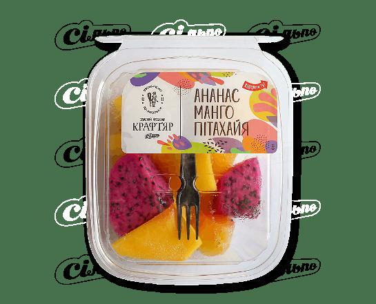 Салат десертний ананас манго пітахайя 200г