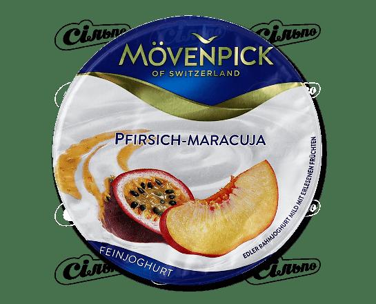 Йогурт Movenpick Feinjoghurt персик-маракуя 14% 150г