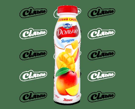 Йогурт «Дольче» манго 2.5% 290г