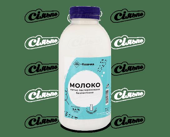 Молоко «Лавка традицій» «Коза Чка» безлактозне 3.4% 500г