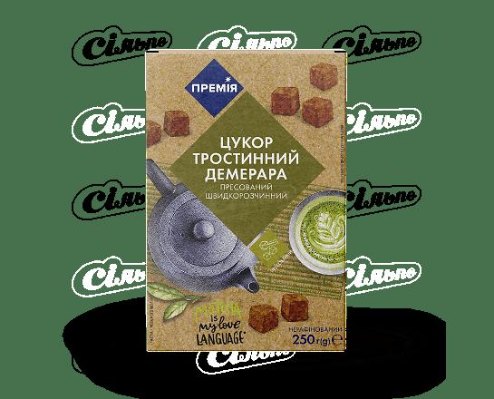Цукор «Премія»® «Демерара» тростинний коричневий пресований 2